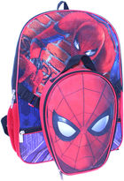 LICENSED PROPERTIES Spiderman Backpack with Lunch Kit