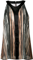 Barbara Bui striped sheer tank - women - Silk - 36