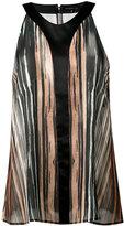 Barbara Bui striped sheer tank - women - Silk - 40