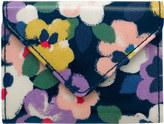 Cath Kidston Large Painted Pansies Envelope Card Holder
