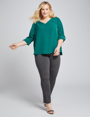 Lane Bryant Power Pockets High-Rise Sexy Stretch Straight Pant