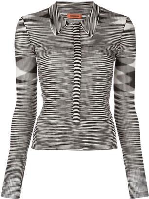 Missoni Striped Knit Shirt
