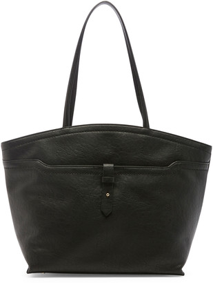 Sole Society Women's Nylah Tote Faux Leather Black From