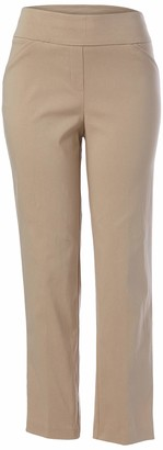 Alfred Dunner Women's Petite Classic FIT Short Length Pant
