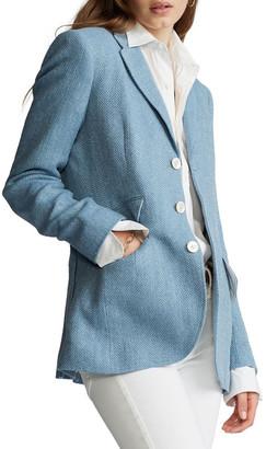Polo Ralph Lauren Herringbone Linen-Blend Blazer