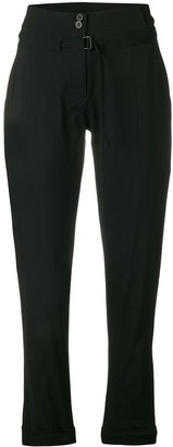 Isabel Benenato straight cut trousers