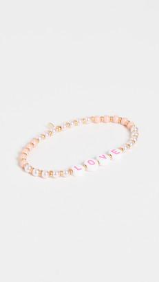 Shashi It's Love Stretch Bracelet