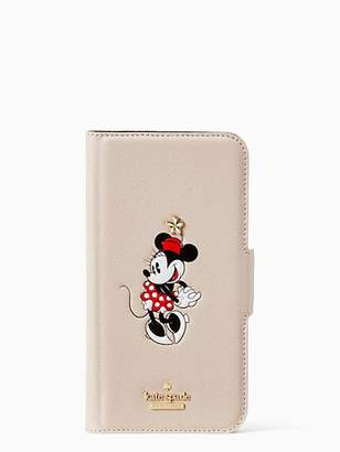 Kate Spade X Minnie Mouse Iphone Xs Max Folio Case