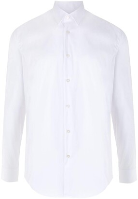 HUGO BOSS Pointed Collar Slim-Fit Shirt