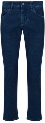 Dolce & Gabbana Slim-Fit Corduroy Pants