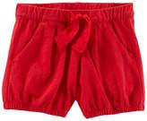Osh Kosh Oshkosh Olive Surplus Jacket Bubble Shorts - Baby Girls