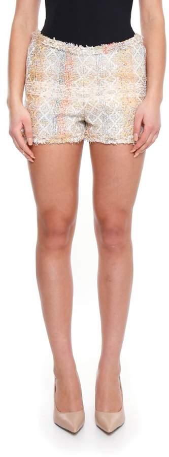 Edward Achour Paris Tweed Shorts