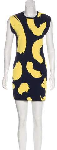 Celine Printed Bodycon Dress