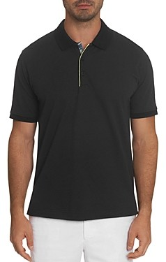 Robert Graham Champion Solid Classic Fit Short Sleeve Polo Shirt