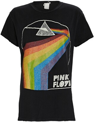 MadeWorn Pink Floyd Rainbow Graphic T-Shirt