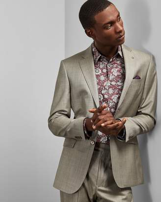 Ted Baker Floral Printed Cotton Shirt