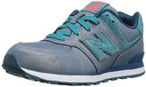 New Balance KL574G Mineral Glow Classic Running Shoe (Toddler/ Little Kid/ Big Kid)