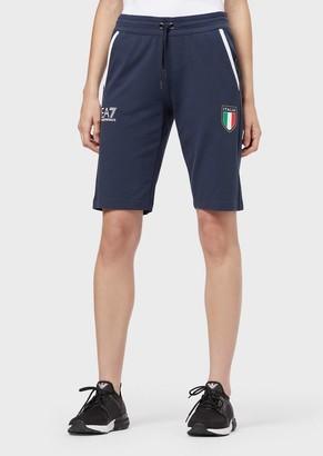 Emporio Armani Team Italia Sweat Shorts