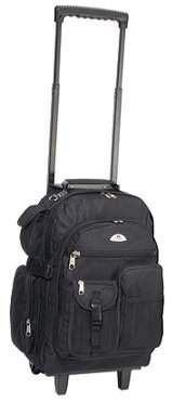 """Everest Deluxe Backpack On Wheels 5045WH 13.5""""x 18.5""""x 7"""""""