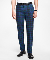 Brooks Brothers Milano Fit Black Watch Chinos