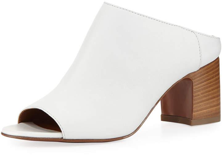 Aquatalia Ellen Leather Mule Sandal