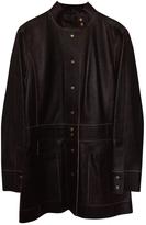 Louis Vuitton Brown Leather Jacket