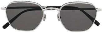 Matsuda M3101 hexagonal-frame sunglasses