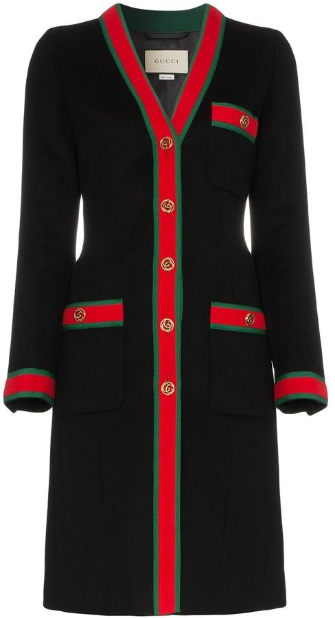 good selling top fashion fair price Gucci Black Women's Coats - ShopStyle