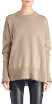 Givenchy Women's Side Slit Alpaca & Wool Sweater