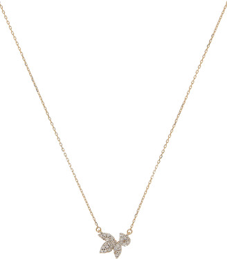 Adina Reyter Pave Diamond Cluster Necklace