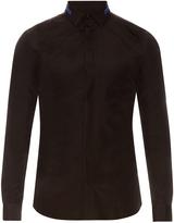 Givenchy Button-cuff cotton-poplin shirt