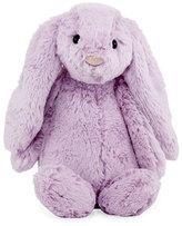 Jellycat Medium Bashful Bunny Plush Animal, Lilac