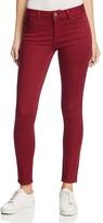 Warp & Weft JFK Skinny Jeans in Garnet