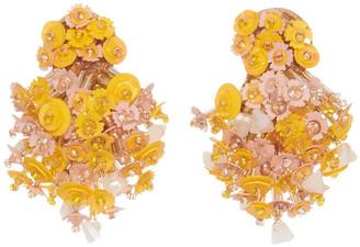 Mignonne Gavigan Nova Burst Earring in Yellow