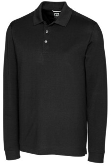 Cutter & Buck Men's Big & Tall Advantage Long Sleeves Polo
