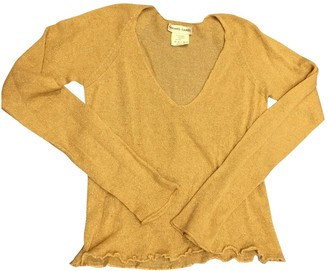 Gerard Darel Gold Cashmere Knitwear for Women