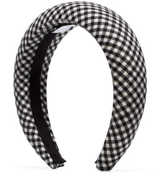 Racil gingham padded headband
