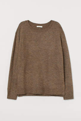 H&M MAMA Knitted nursing jumper