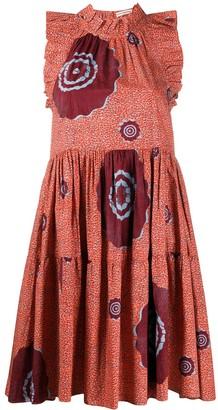 Ulla Johnson Tamsin abstract-print dress