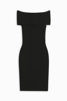 Rosetta Getty Off Shoulder Band Dress