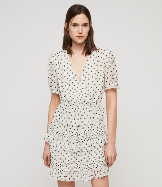 AllSaints Ilia Dot Dress