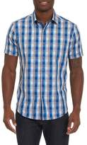 Robert Graham Greenfield Dobby Check Sport Shirt