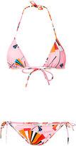 Emilio Pucci abstract print bikini