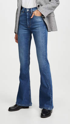Kingsley Boyish The High Rise Comfort Stretch Flare Jeans
