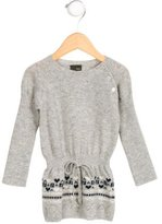 Fendi Girls' Wool Zucca-Patterned Dress