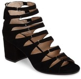 Pour La Victoire Women's Amani Block Heel Cage Sandal
