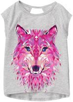 Gymboree gymgo Wolf Tee