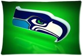 "Pillowcase 2421 Custom Seattle Seahawks Pillowcase Standard Pillow Protector Cover 20""x30"" LLP-928"