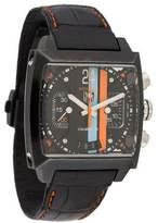 Tag Heuer Monaco Watch w/ Alligator Strap
