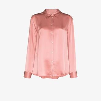 ASCENO London Silk Pyjama top